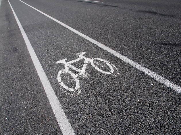 Sabíeu que a la Diagonal hi ha un carril bici?
