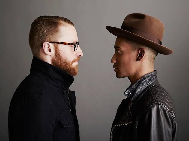 Matt Gould and Griffin Matthews