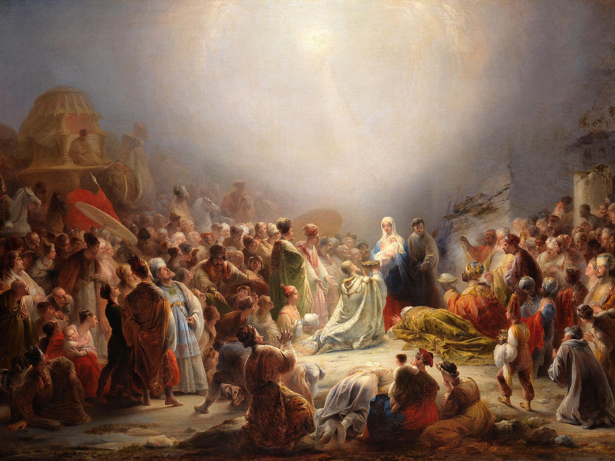 Domingos Sequeira - Adoração dos Magos