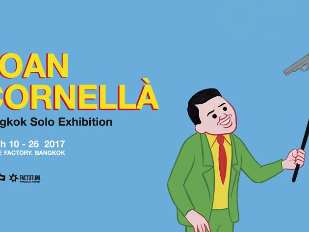 Joan Cornellà: Bangkok Solo Exhibition