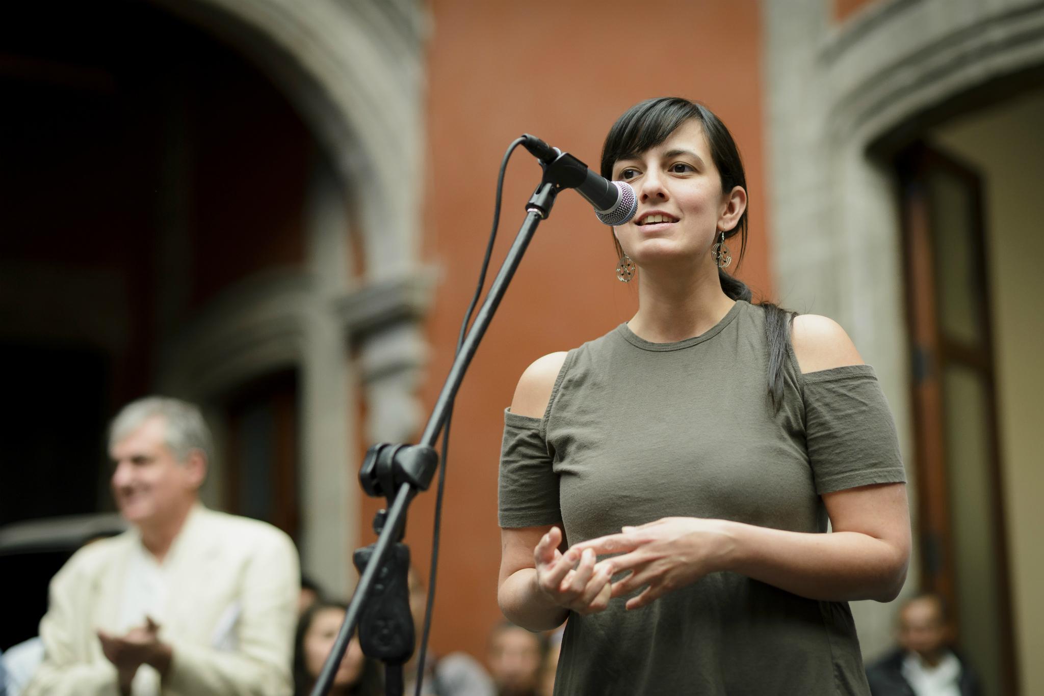 Andrea Griborio, directora de Mextrópoli