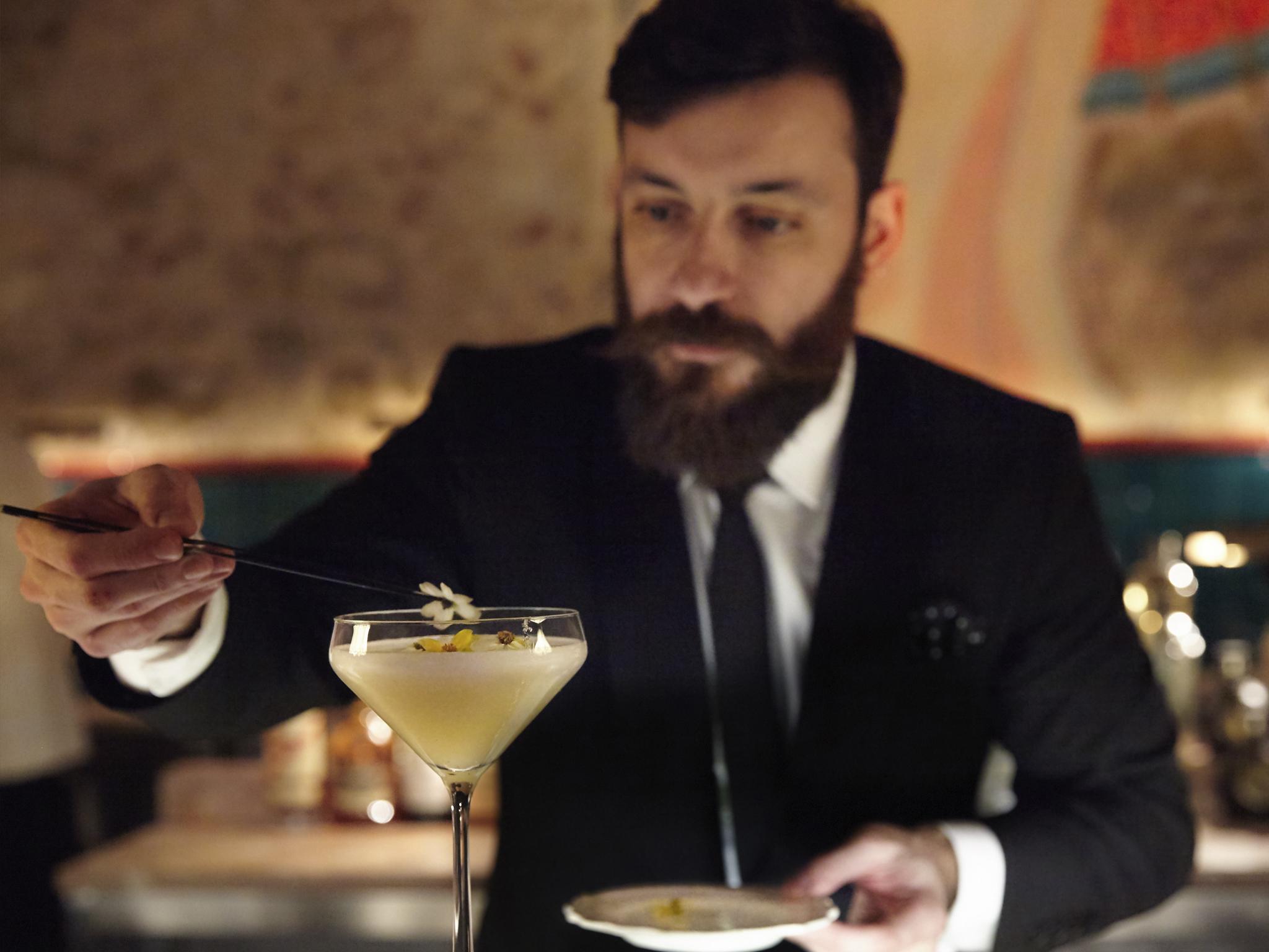 Os cocktails
