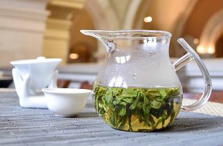 A Chinese tea house-themed pop-up café just opened inside The Met