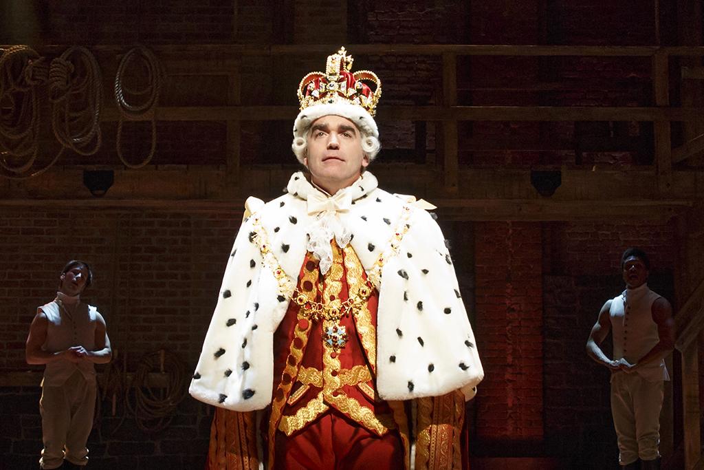 An original cast member returns to Hamilton