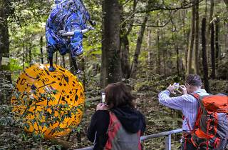 Sculpture at Scenic World