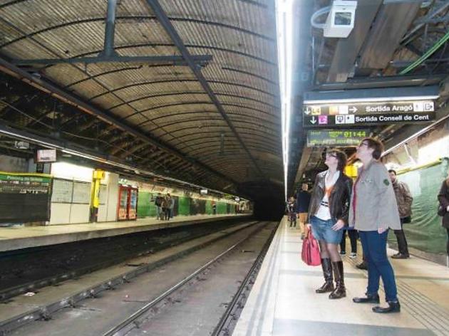 L'estació de Passeig de Gràcia recuperarà elements del 1924