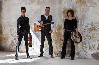 Peter Loveday, with Sarah Davison and Naomi Wedman
