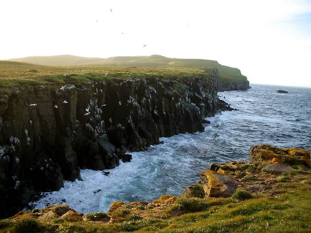 Grimsey, Iceland, best places for nighttime sun travel feature
