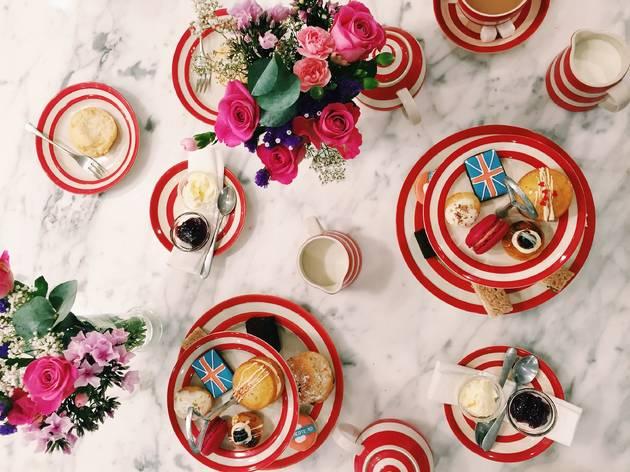 Mother's Day Biscuiteers Afternoon Tea