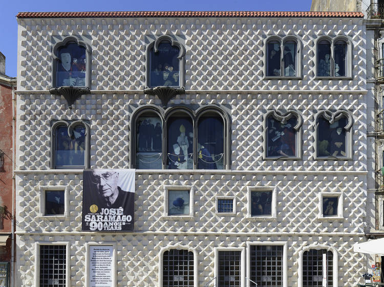 Recorde Saramago na Casa dos Bicos