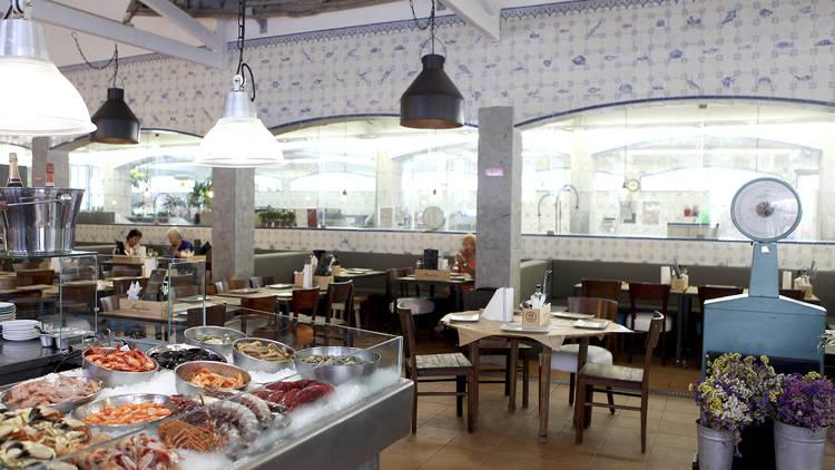 Restaurante, Marisco na Praça, Cascais