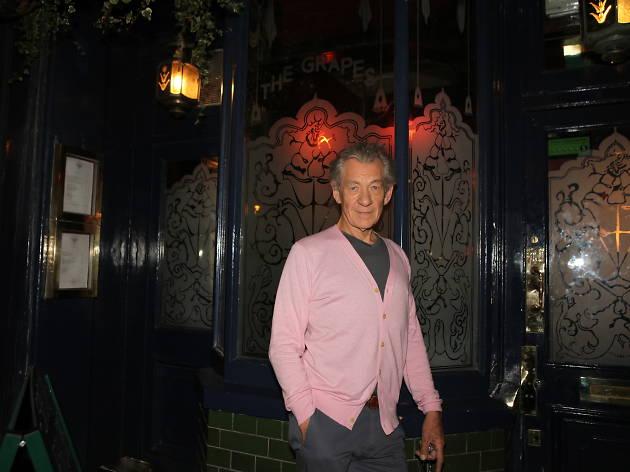 Ian McKellen in 'The Grapes'