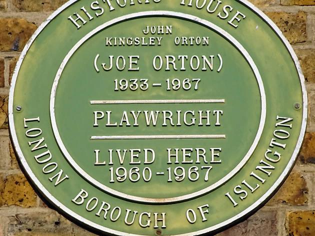 Joe Orton, LGBT landmarks