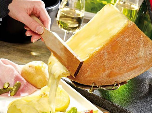 Raclette, Alpine dishes travel feature