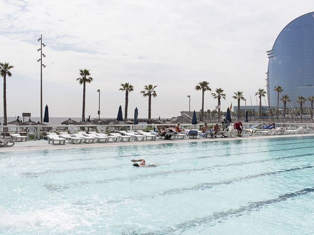 Piscinas climatizadas exteriores en Barcelona