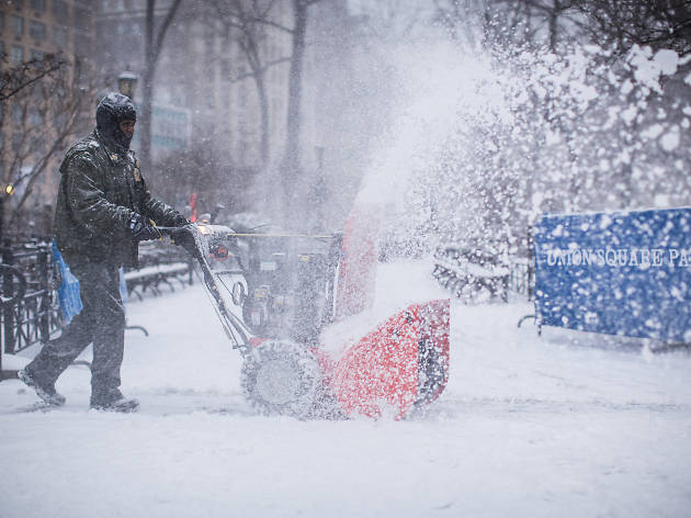 NYC could be getting up to 18 inches of snow on Tuesday