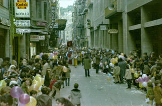Carrer Nou de Girona 1980 (© Ajuntament de Girona. CRDI (Miquel Morillo))