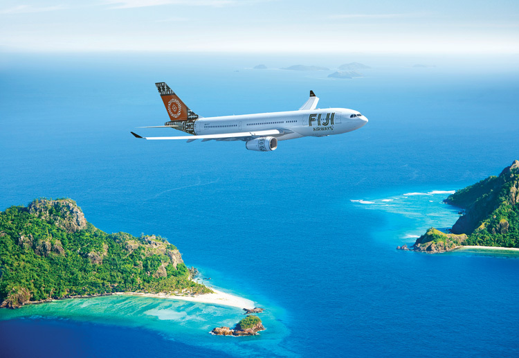 Travel to Fiji on Fiji Airways