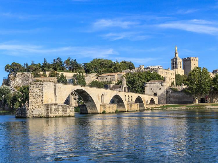 London St Pancras to Avignon via Eurostar