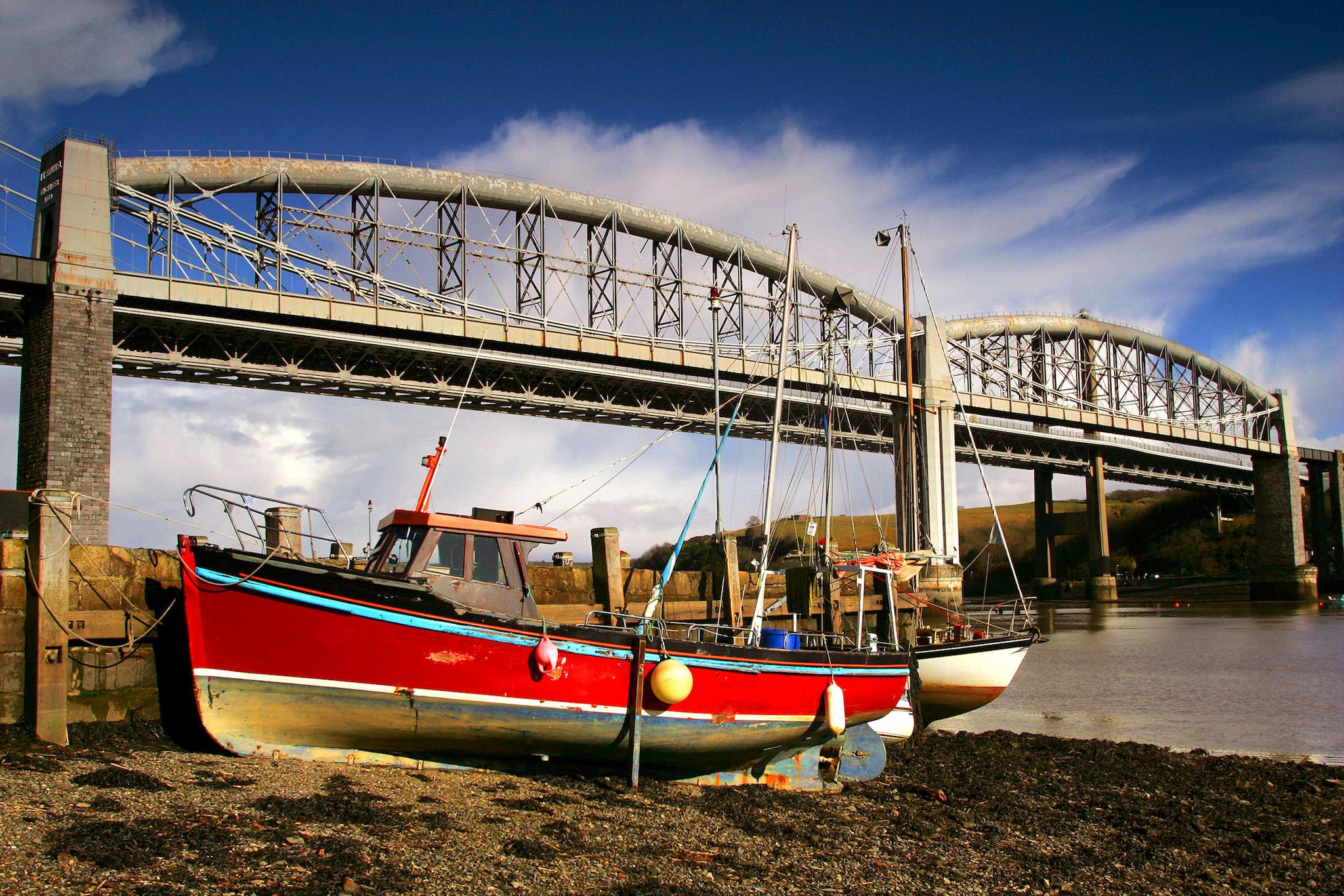 The Royal Albert Bridge (London Paddington to St Ives - train journeys across Europe feature)