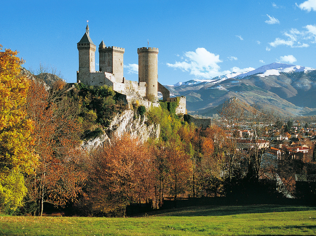 France, Ariege, Foix - London to Barcelona, European train journeys travel feature 2017