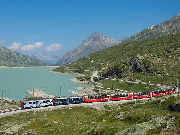 Five beautiful European train journeys from London
