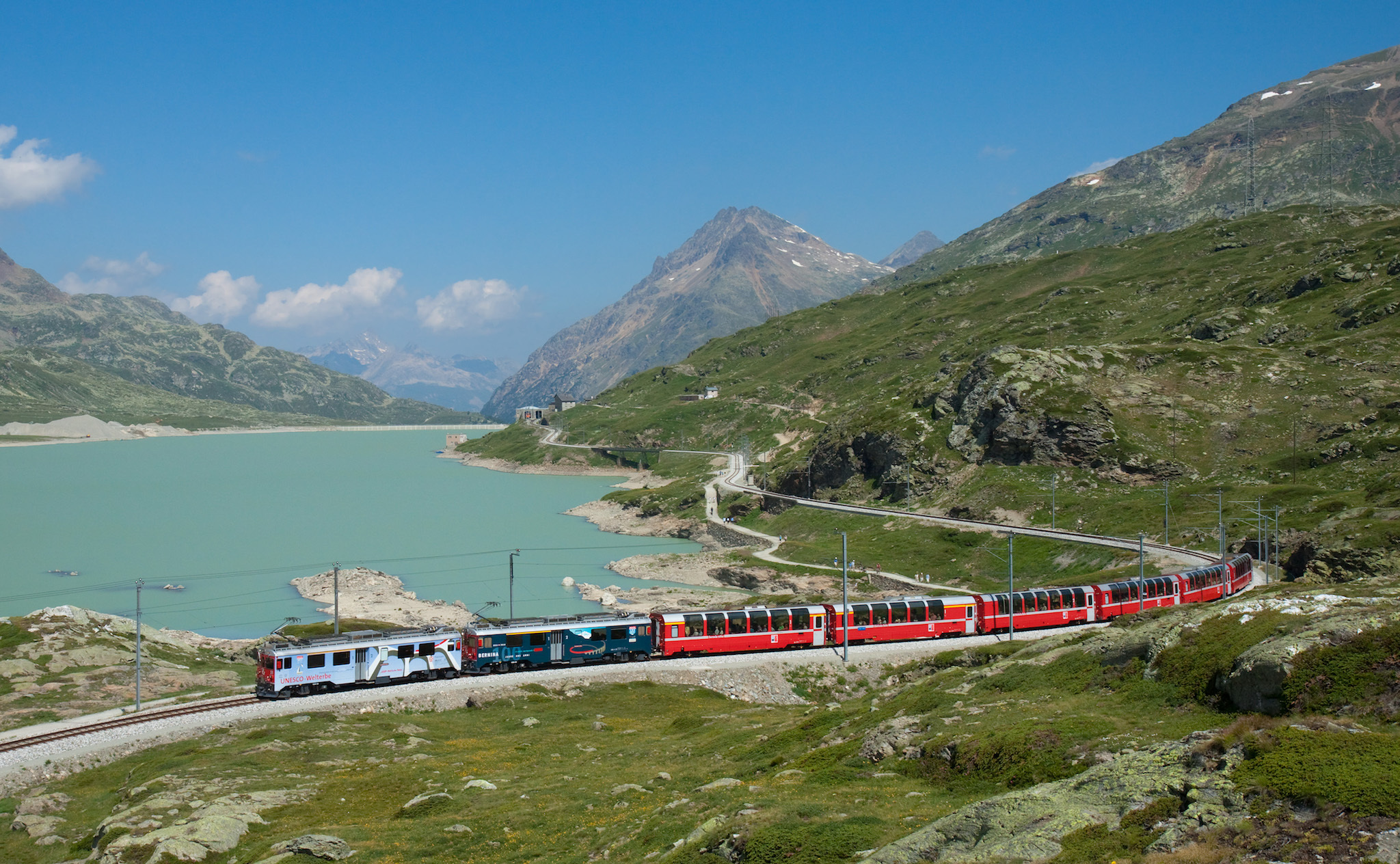 Bernina Express - train journeys across Europe travel feature 2017