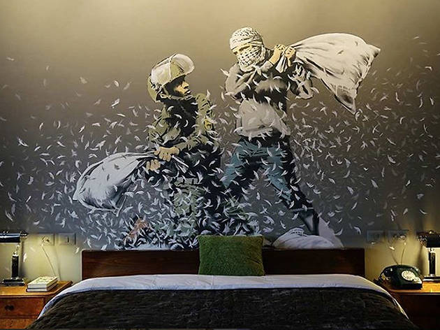 In pictures: Banksy's hotel in Bethlehem