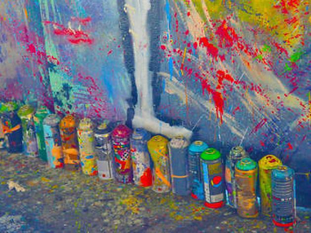 Graffiti Lesson - $30
