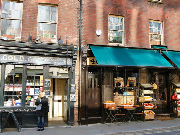 Independent shops in London