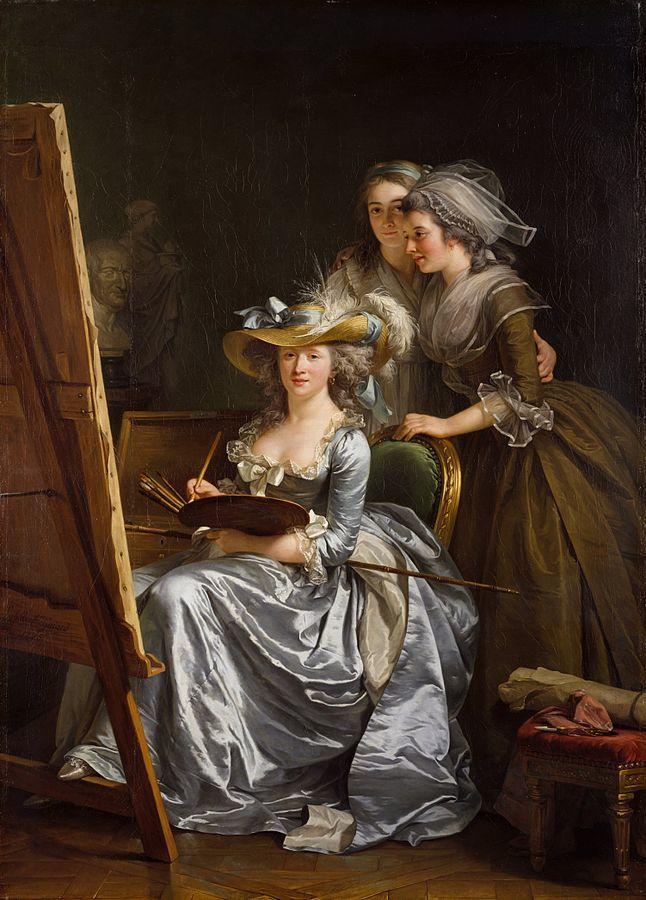 Shady Ladies of the Met Museum