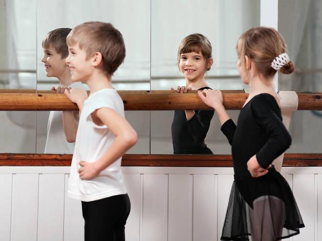 Taller de ballet para niños