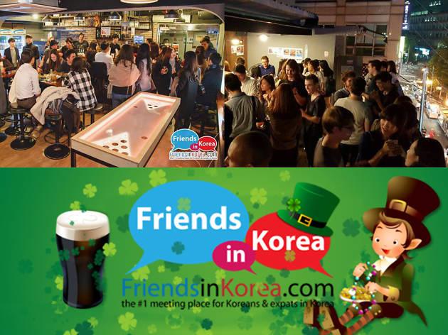 St. Patrick's Day *True Heineken* Rooftop Party @ Playground Rooftop Café & Bar, Hongdae