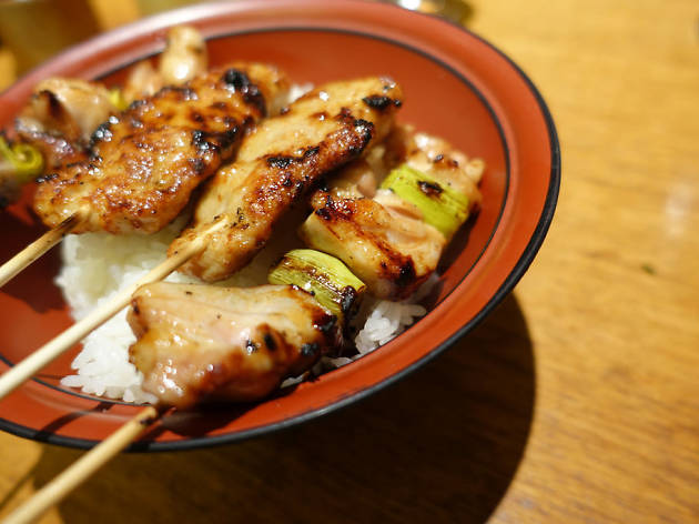 Sake and Yakitori