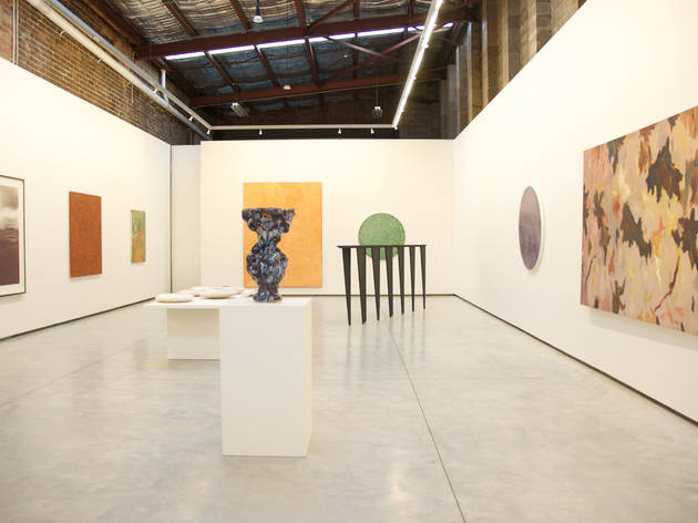 Utopia Art Sydney 2017 gallery interior 01 at 72 Henderson Rd Alexandria installation view Alternative Museum courtesy UAS