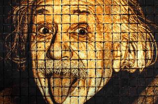Einstein, rei absolut dels gifs i memes a internet