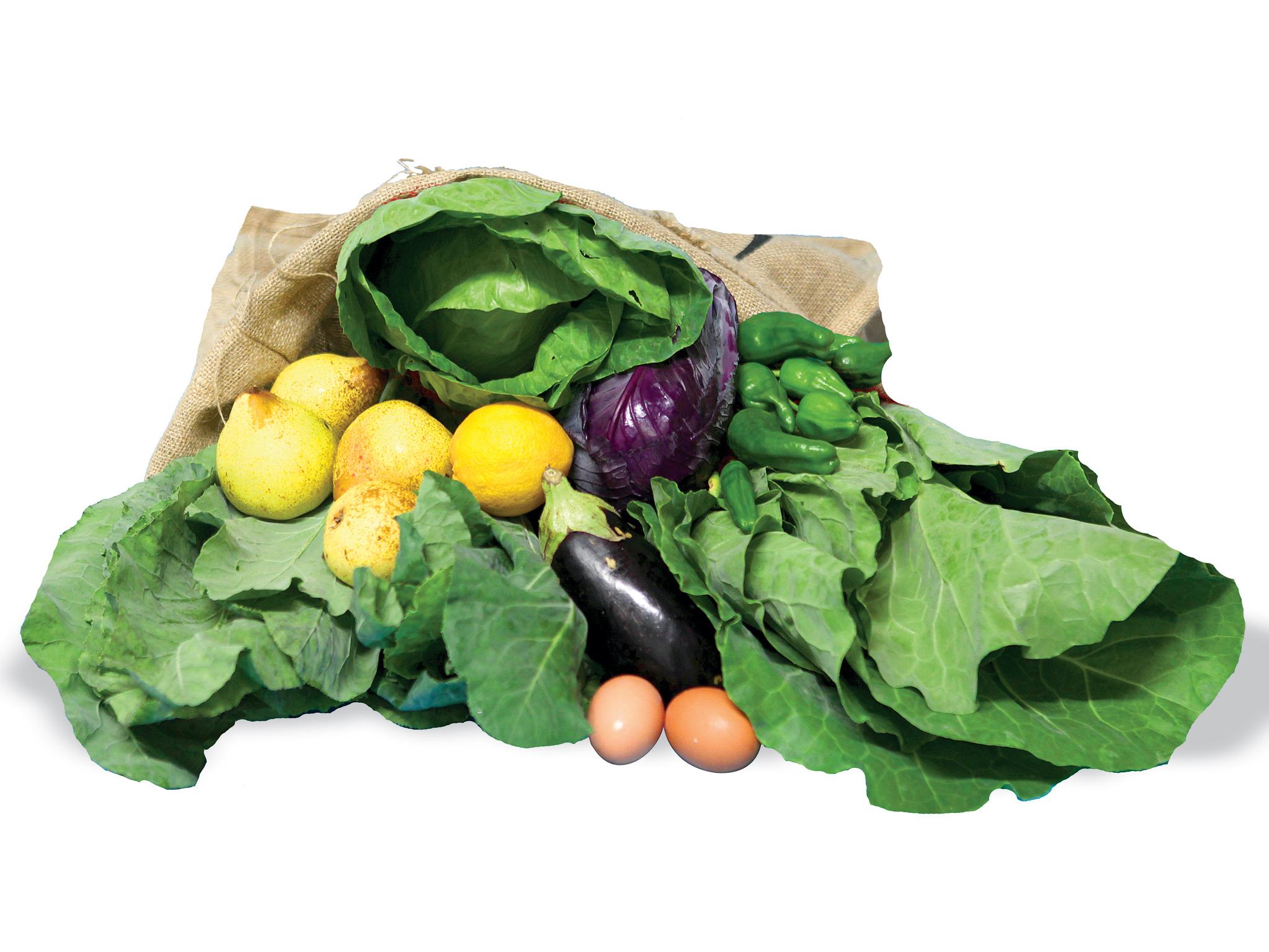 Quinta da Pedra Branca - Cabaz Fruta e Legumes
