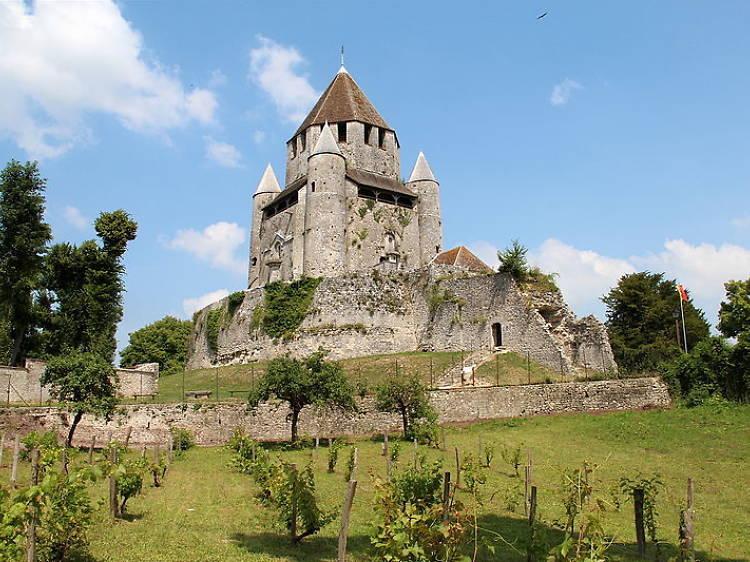 Dans la ville médiévale de Provins