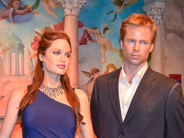People at Madame Tussauds