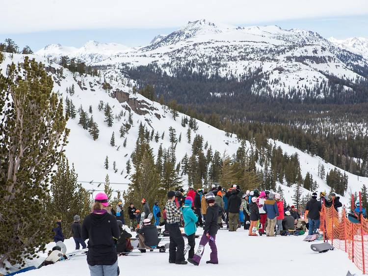 Best snowboarding resort: Mammoth Mountain, CA