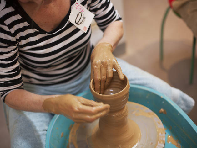 Slow Clay pottery class