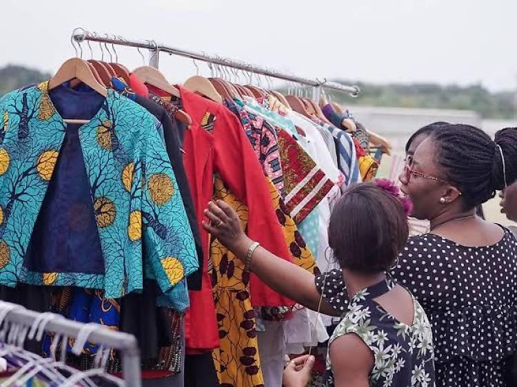 The Vibrant Accra Goods Market