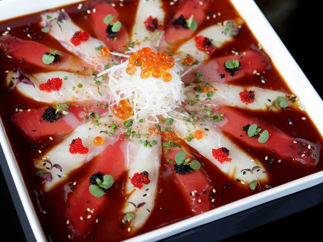 Sushic Chiado – Carpaccio de peixe com trufas