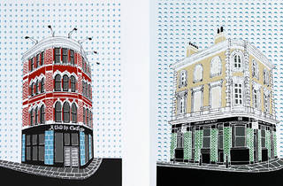 A whistle-stop tour of Liz Whiteman Smith's Shoreditch illustrations