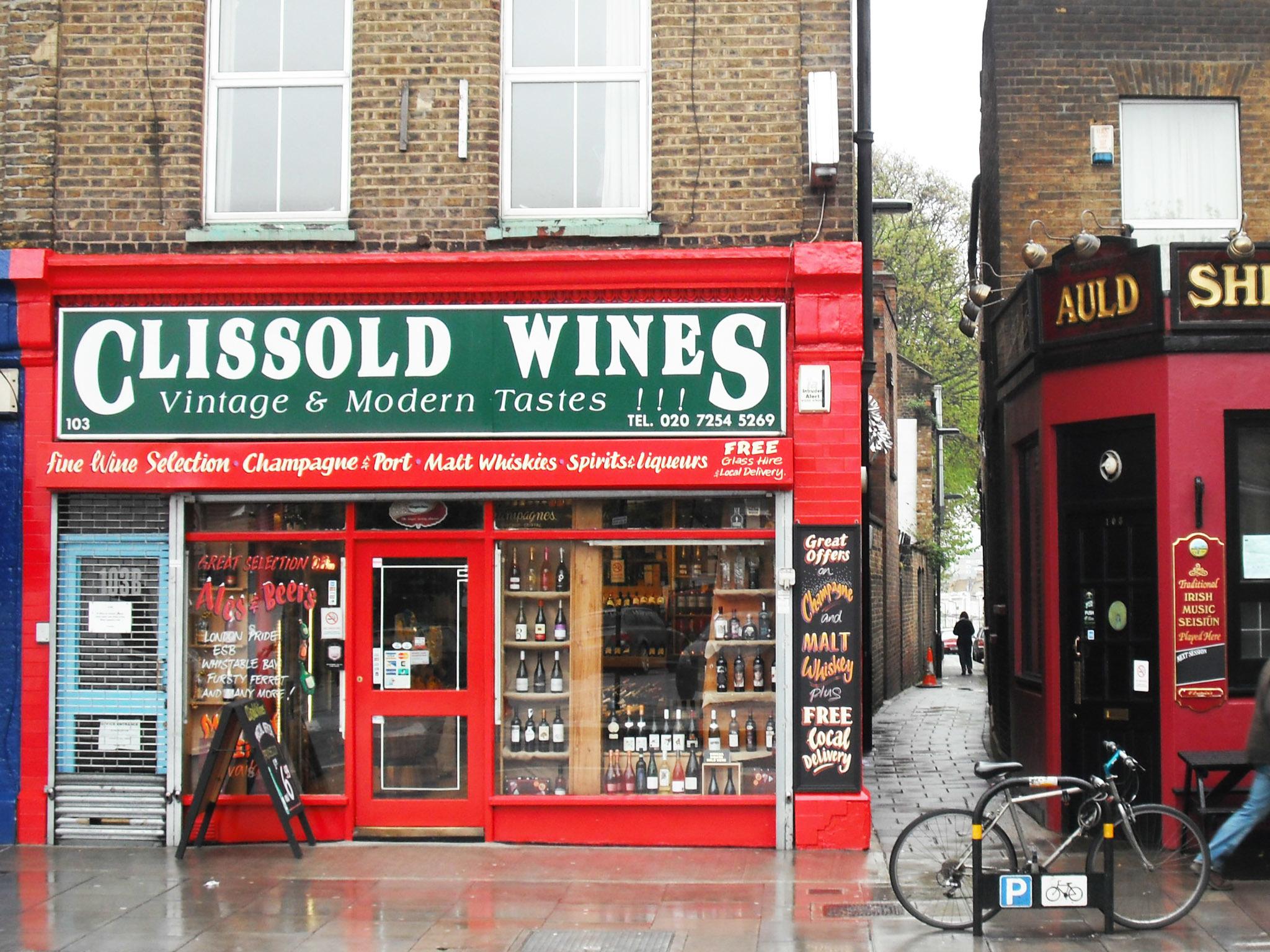 Clissold Wines Stoke Newington Church Street