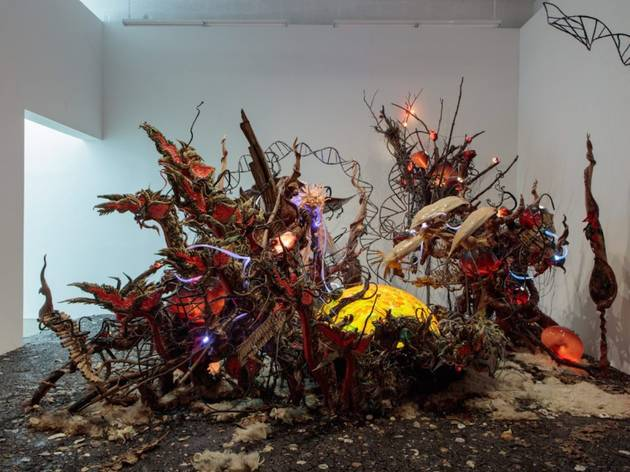 """Korakrit Arunanondchai, """"with history in a room filled with people with funny names 4"""""""