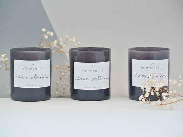 Three candles from Mommentto, $117