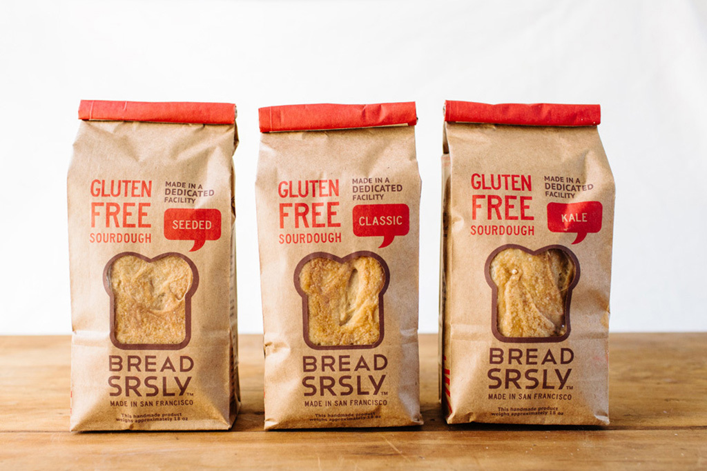 Choose Your Own Adventure Gluten-free Sourdough 3-pack and E-gift card from Bread SRSLY, $88
