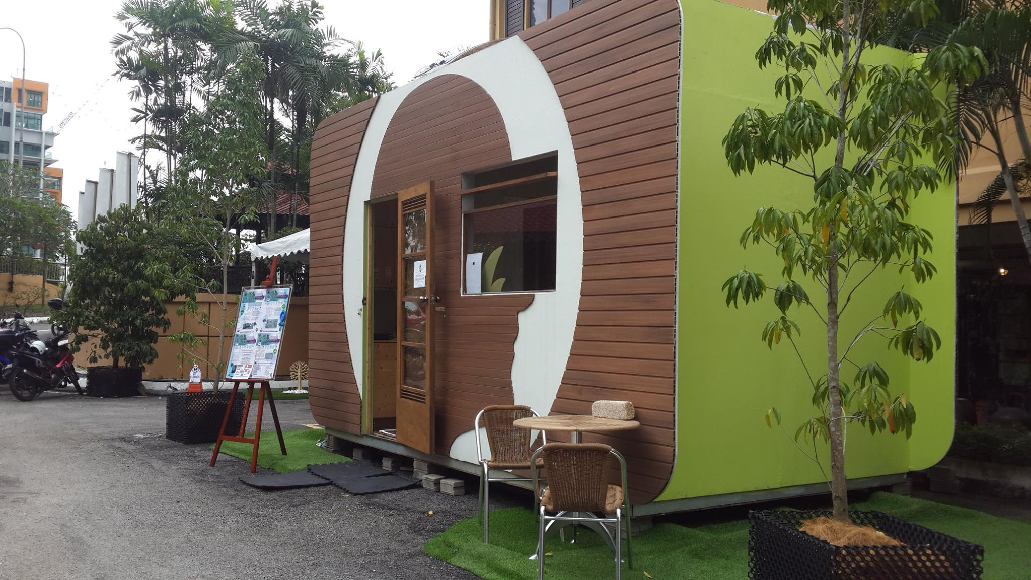 Greenman tiny home malaysia s first sustainable zero for Small house design malaysia