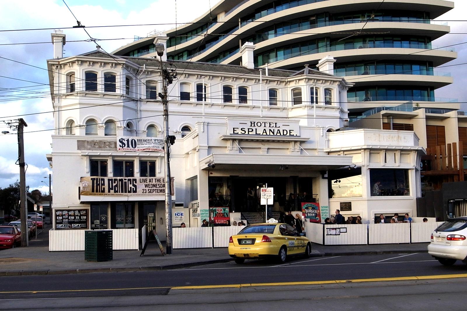 The Esplanade Hotel exterior